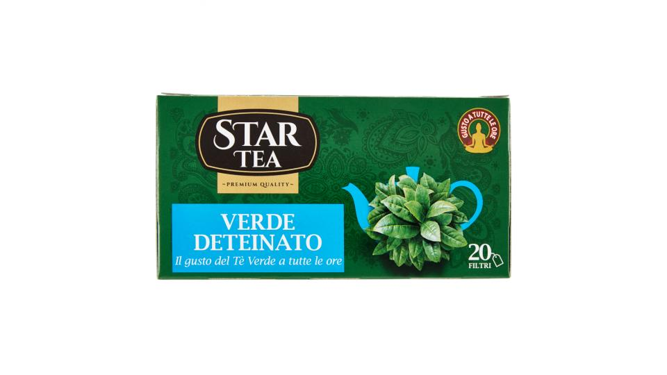 Star Tea Verde Deteinato
