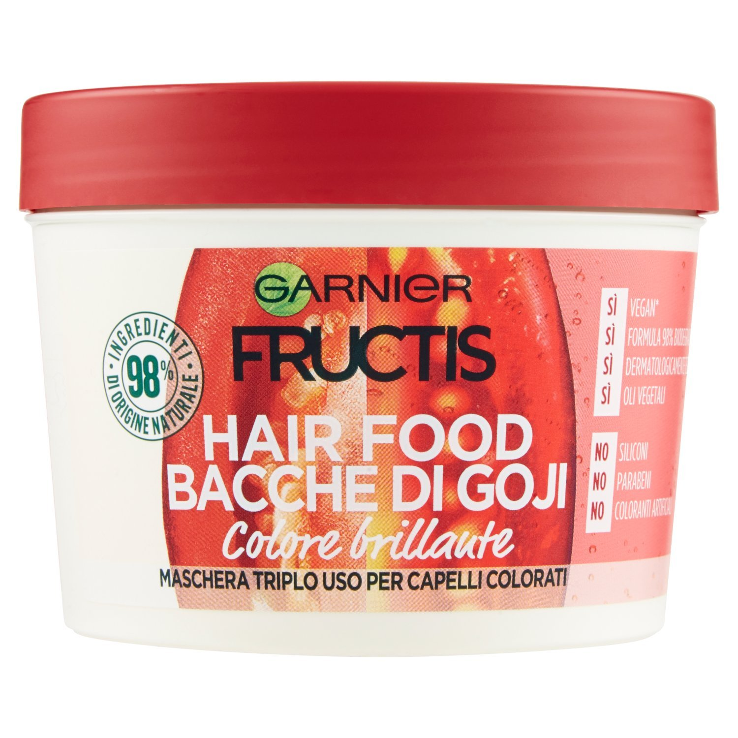 Bacche di Goji 3 in 1 Fructis HairFood Bacche di Goji 390ml