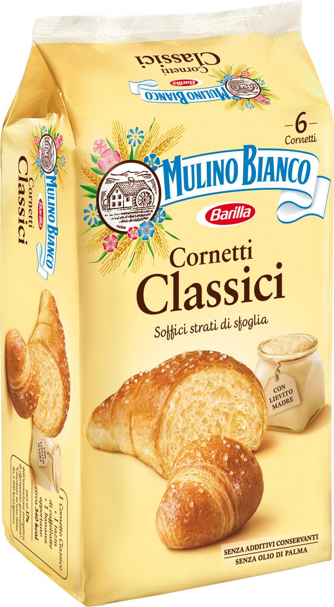 Cornetti classici Mulino Bianco 330g