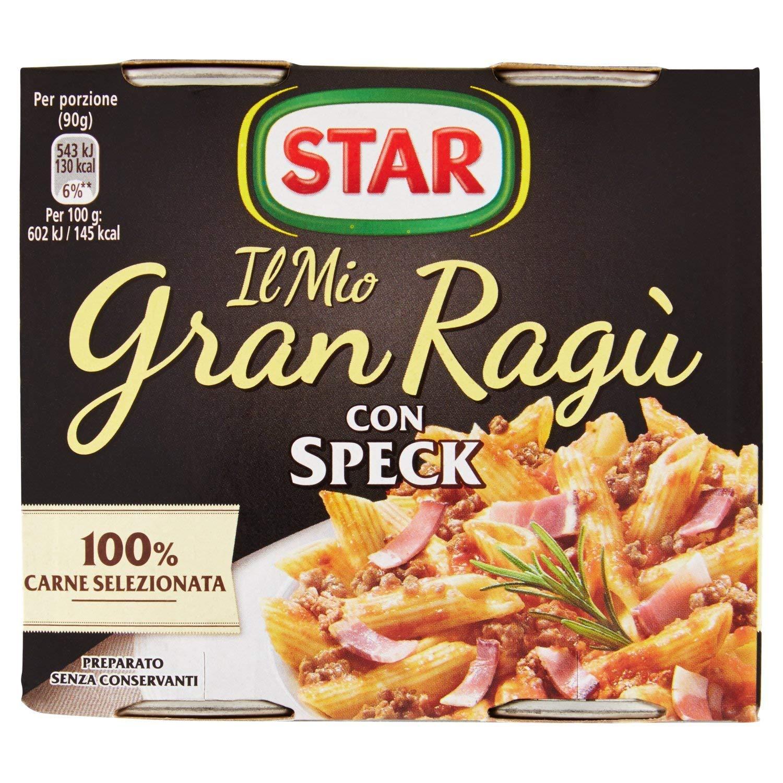 Il Mio GranRagù Star con Speck 2x180g