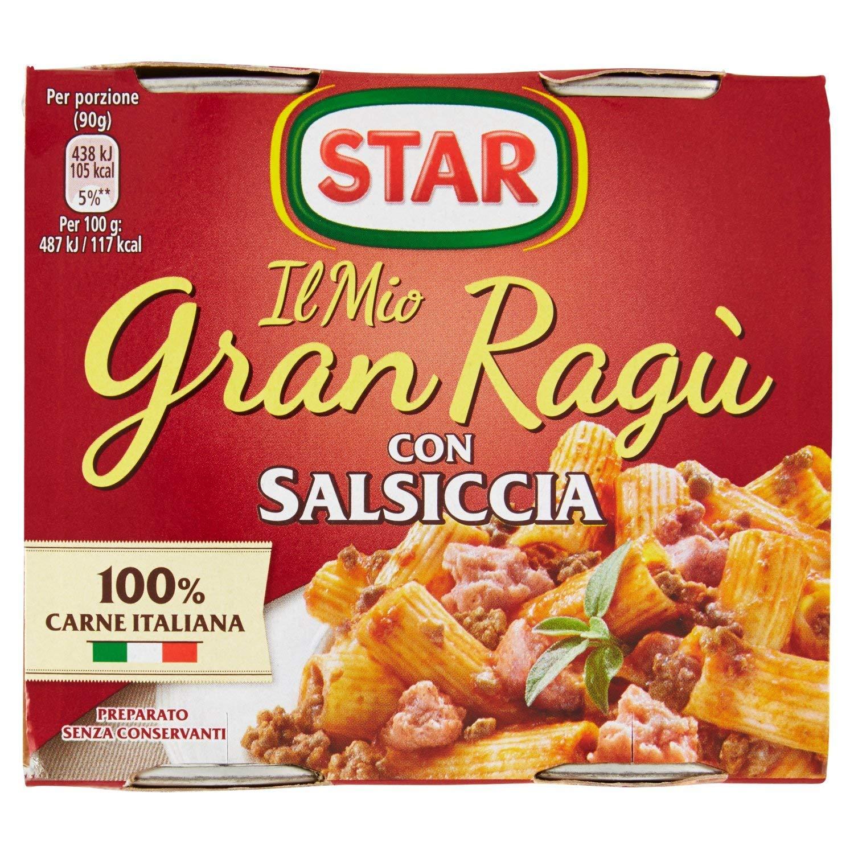 Il Mio GranRagù Star con Salsiccia 2x180g