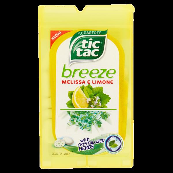 Tic Tac Breeze Melissa e Limone