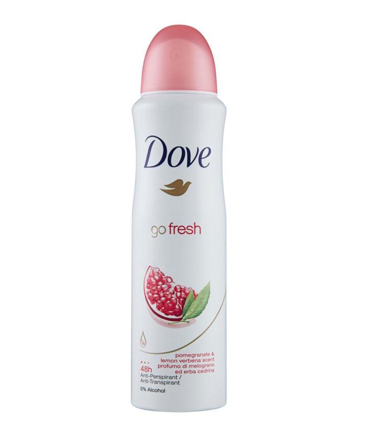Dove deodorante Go Fresh spray con Melograno & Erba cedrina