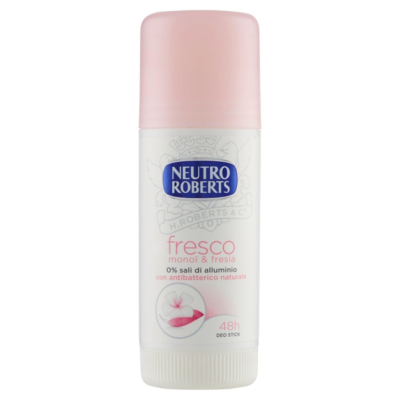 NEUTRO ROBERTS Deodorante Stick Fresco Monoi & Fresia 40ml