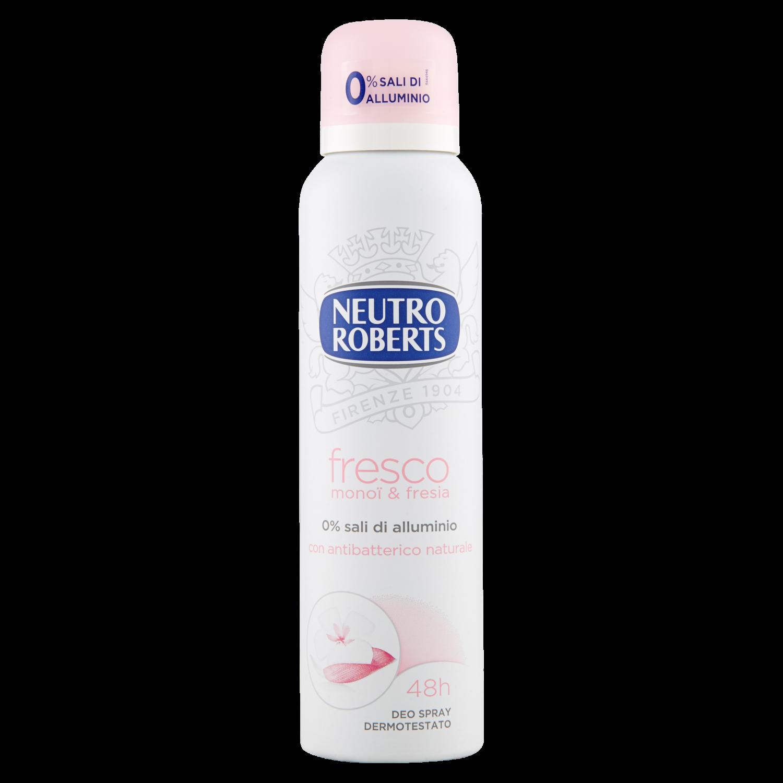 NEUTRO ROBERTS Deodorante Spray Fresco Monoi & Fresia 150ml