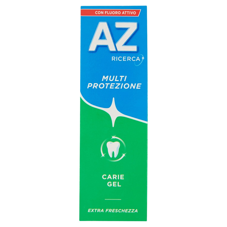 Dentifricio AZ Multi-Protezione Carie Gel + Fluoro Attivo 75ml