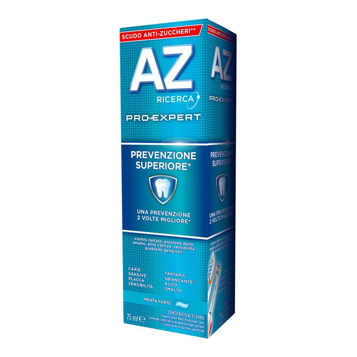 Dentifricio AZ Pro-Expert Prevenzione Superiore 75ml