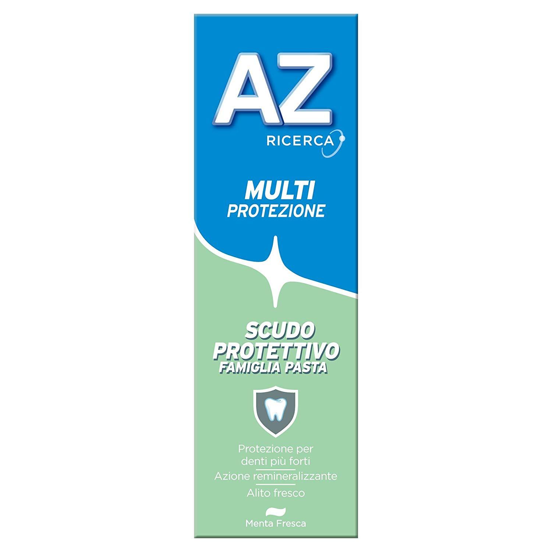 Dentifricio AZ Multi-Protezione Scudo Protettivo Famiglia Pasta 75ml