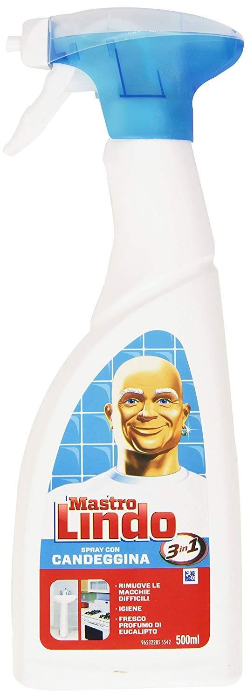 Mastro Lindo con candeggina Spray 500ml