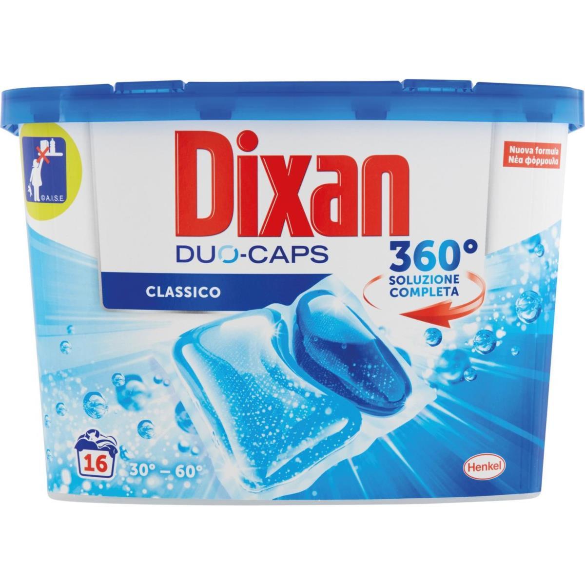 Dixan Duo-Caps Classico 16 lavaggi