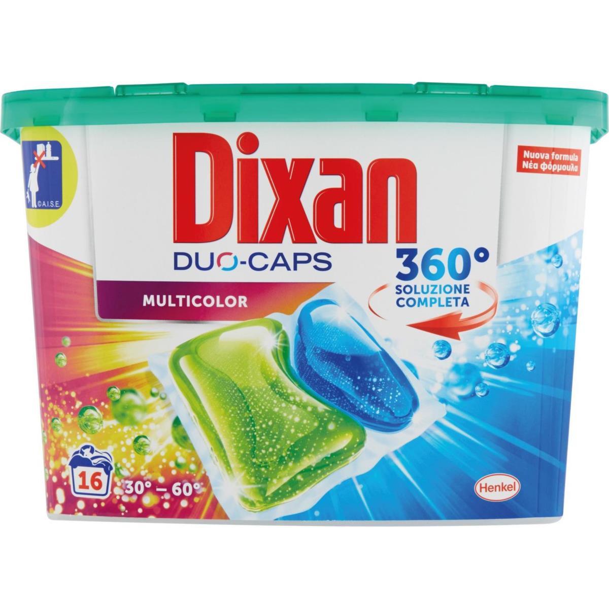 Dixan Duo-Caps Multicolor 16 lavaggi