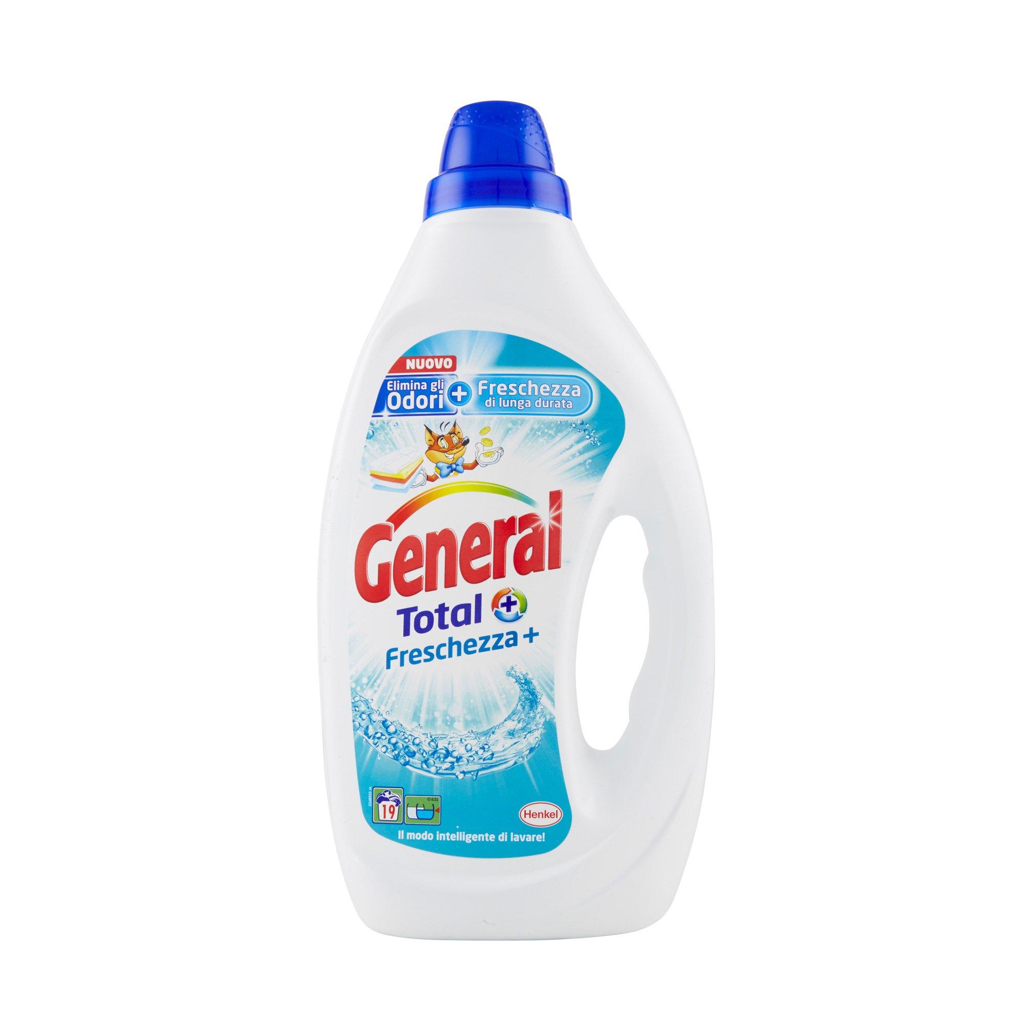 General Freschezza + 19 lavaggi