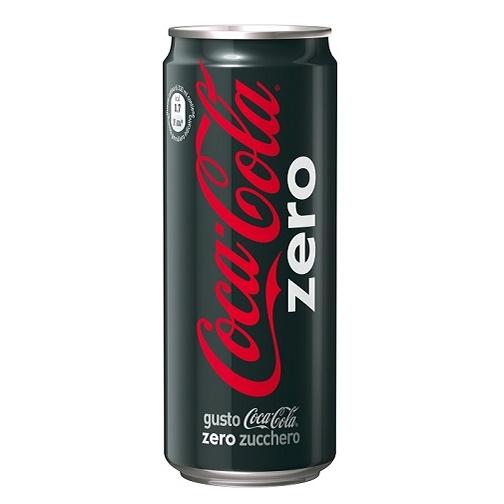 Coca-Cola Zero calorie lattina 330cl