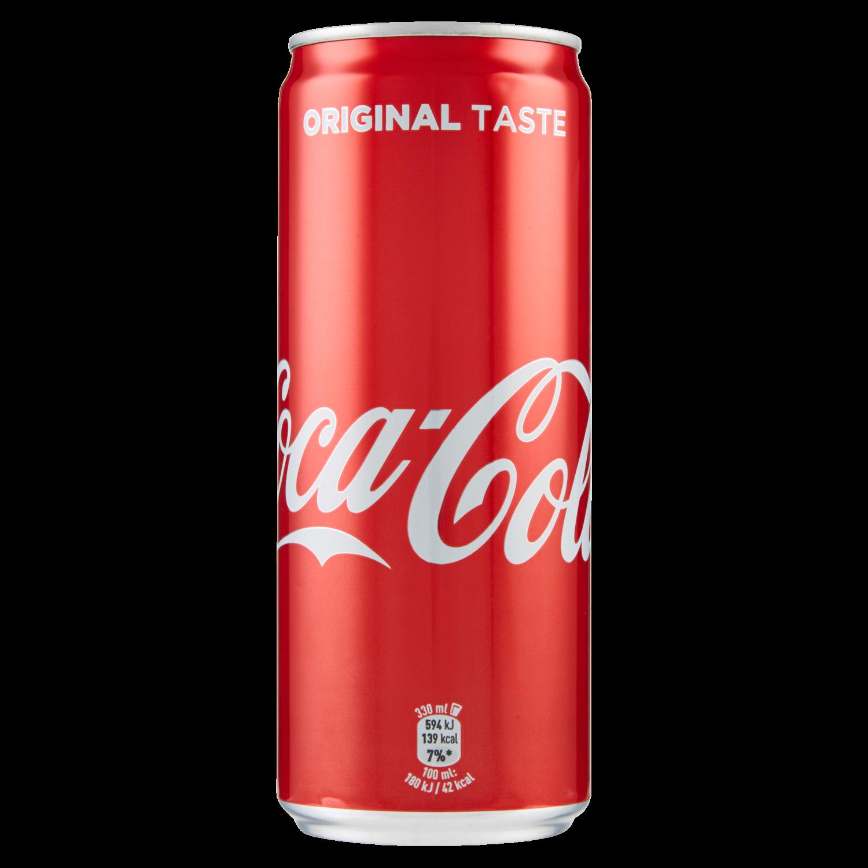 Coca-Cola Original lattina 330ml