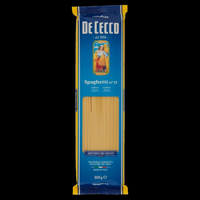 Spaghetti Dececco n°12 500g