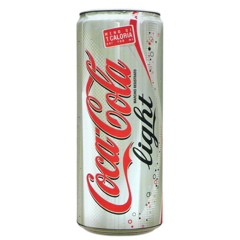 Coca-Cola light lattina 330ml
