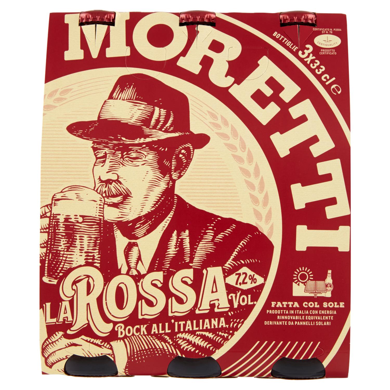 Birra Moretti la Rossa 3x33cl