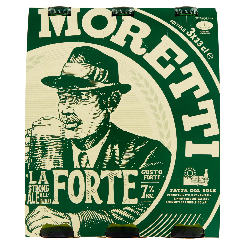 Birra Moretti la Forte 3x33cl