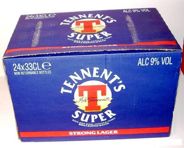 Tennent's Super confezione 24 x 33cl