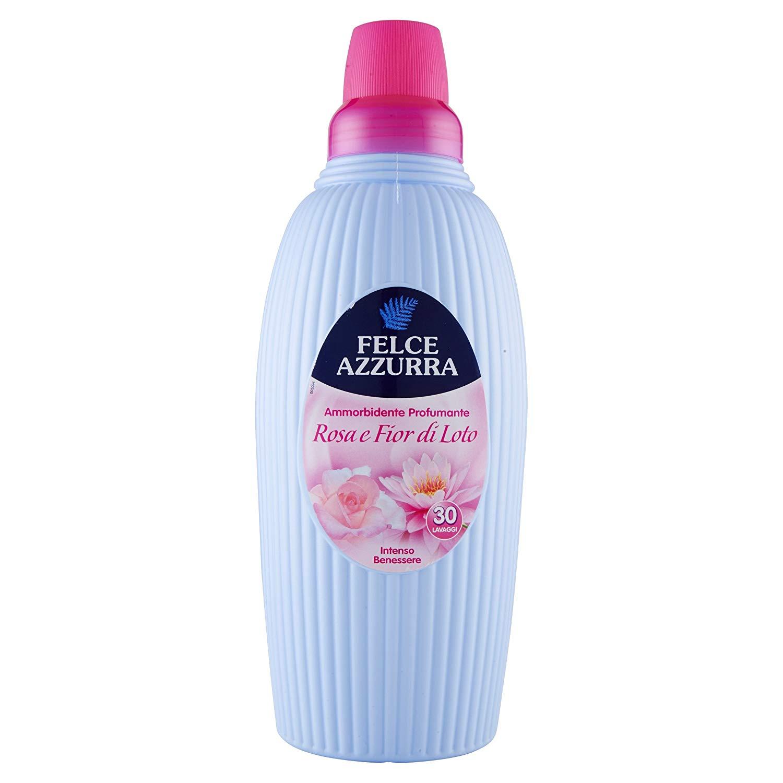 Ammorbidente Rosa e Fiori di Loto Felce Azzurra Intenso Benessere 2L