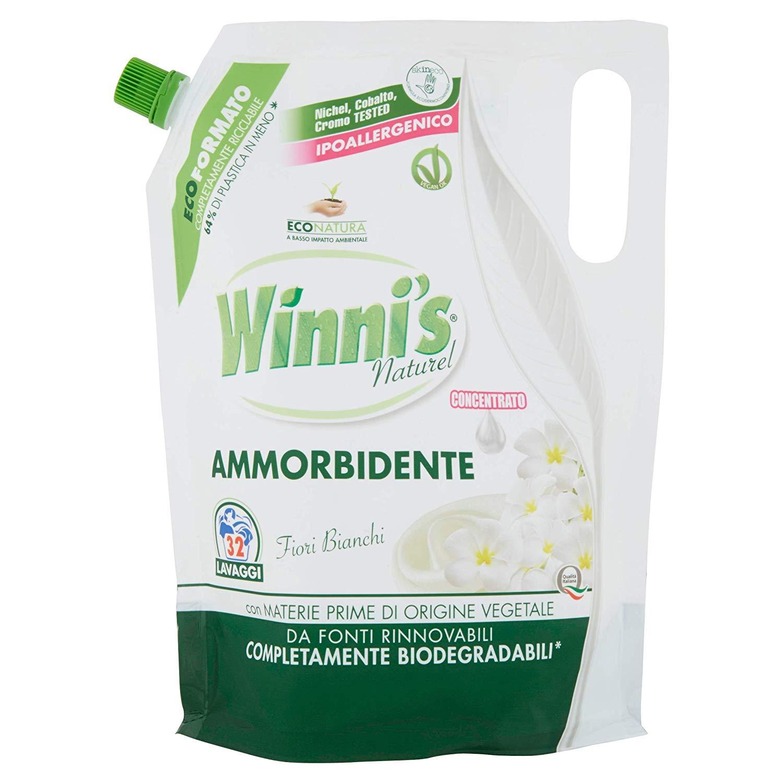 Winni's Ammorbidente Ecoformato Fiori Bianchi 800ml