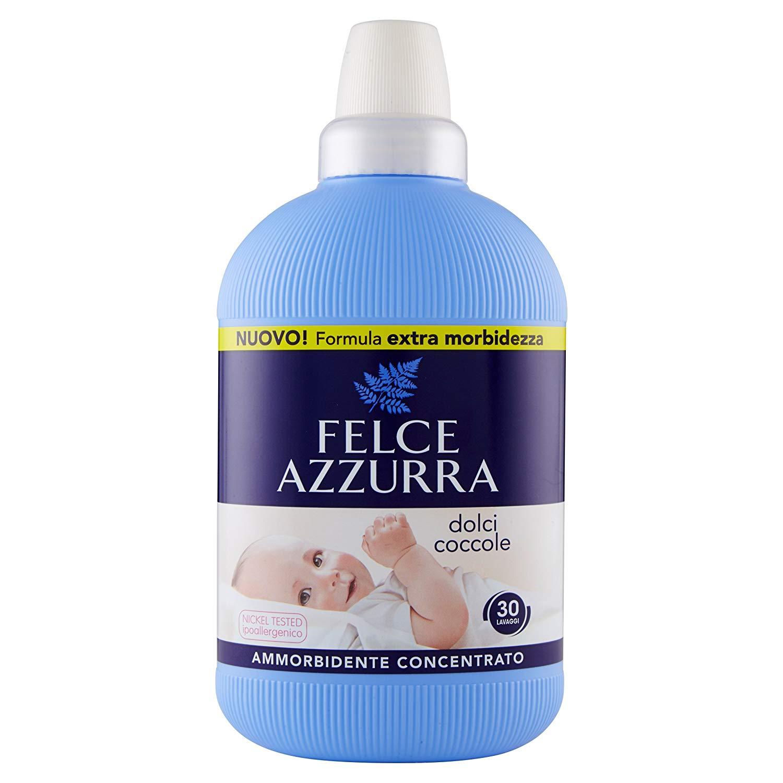 Ammorbidente concentrato Dolci Coccole Felce Azzurra Pelli Sensibili 750ml