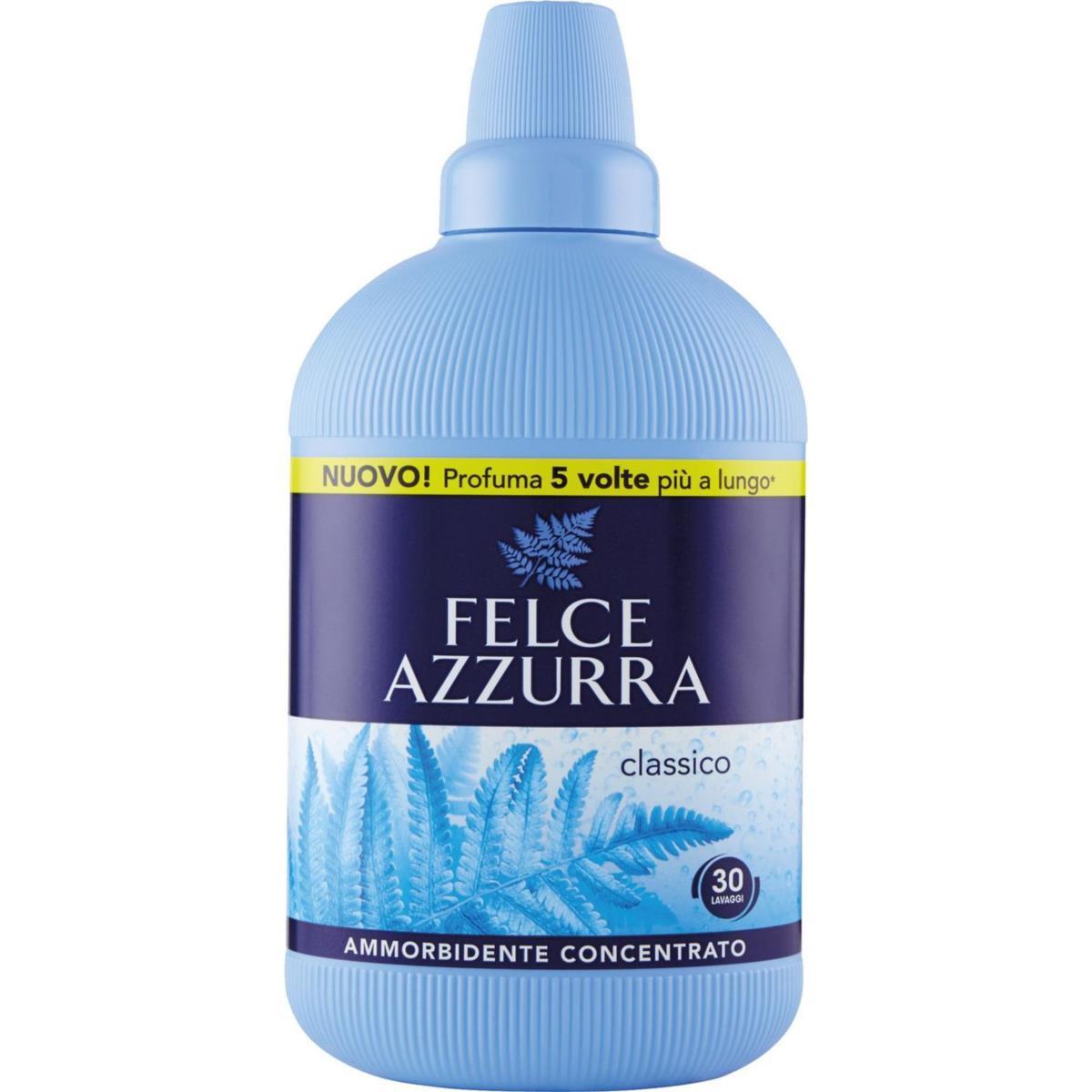 Ammorbidente concentrato Classico Felce Azzurra Profumo inconfondibile 750ml
