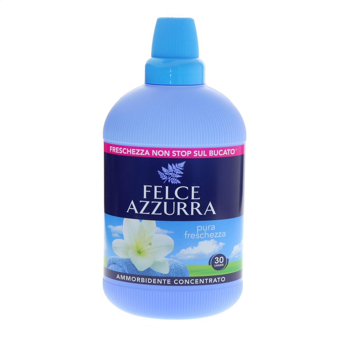 Ammorbidente concentrato Pura Freschezza Felce Azzurra Freschezza Non stop sul bucato 750ml