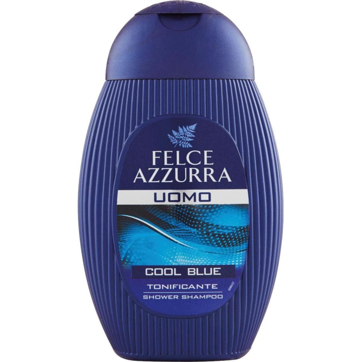 Docciashampoo Uomo Felce Azzurra COOL BLUE Tonificante 250ml