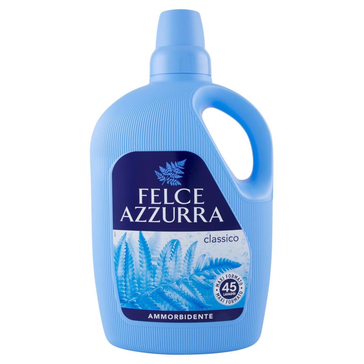 Ammorbidente Classico Felce Azzurra Profumo Inconfondibile 3L