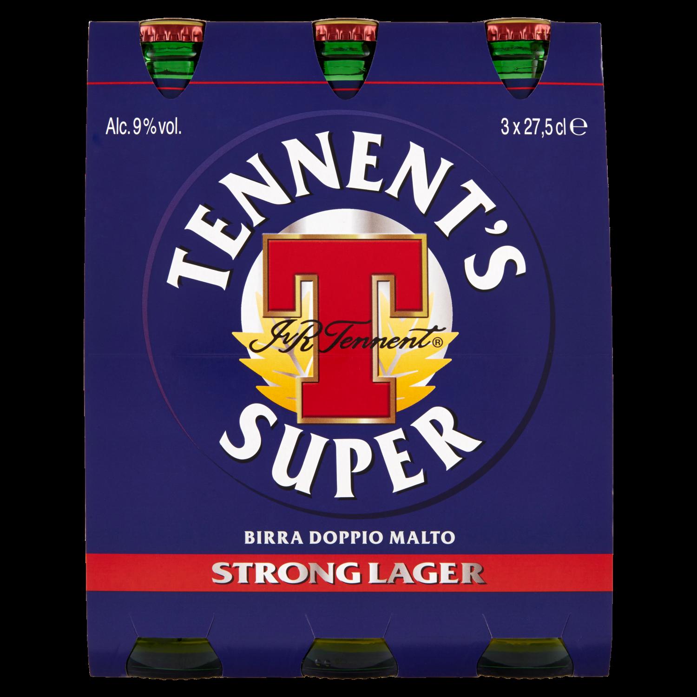 Tennent's Super confezione 3 x 27,5cl