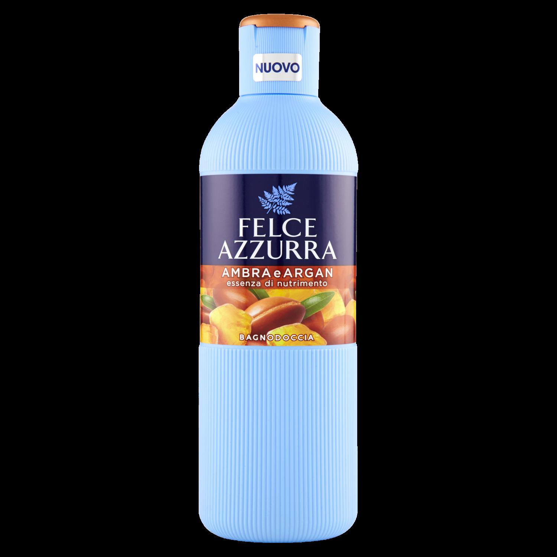 Bagnodoccia Felce Azzurra Ambra e Argan Essenza di Nutrimento 650ml
