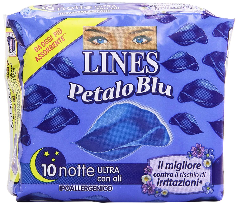 Lines Petalo blu Notte 10pz