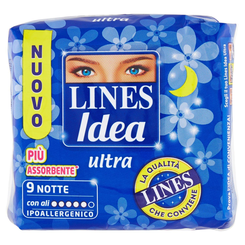 Lines Idea Ultra Notte 9pz