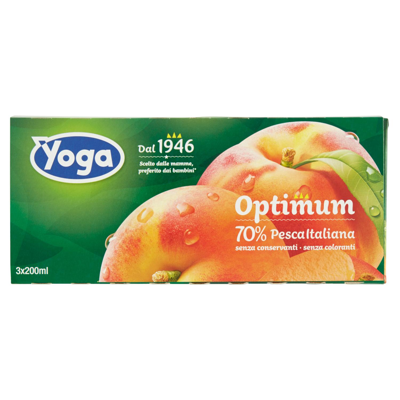 Yoga Optimum Pesca Brik 3x200ml