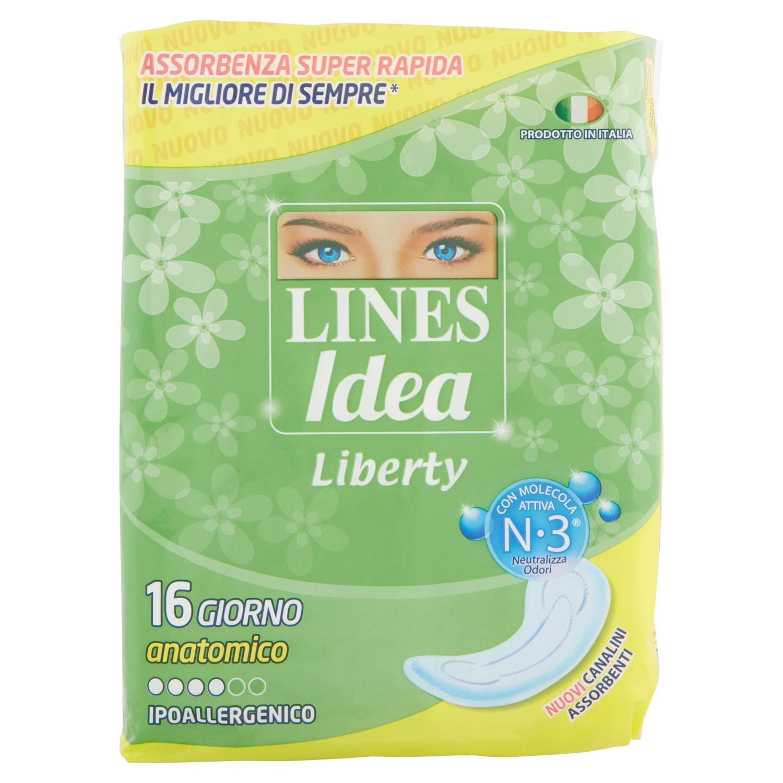 Lines Liberty giorno anatomico 16 pz