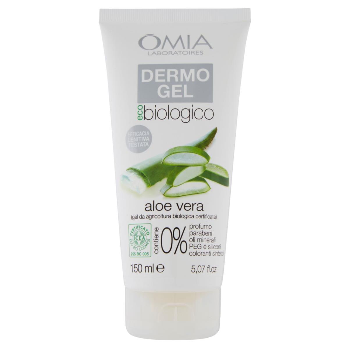 Omia Dermo Gel Eco Biologico Aloe Vera 150 ml