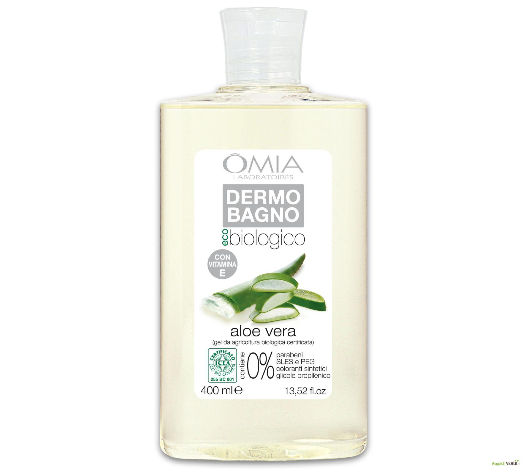 Omia Laboratoires eco biologico Dermo Bagno aloe vera 400 ml