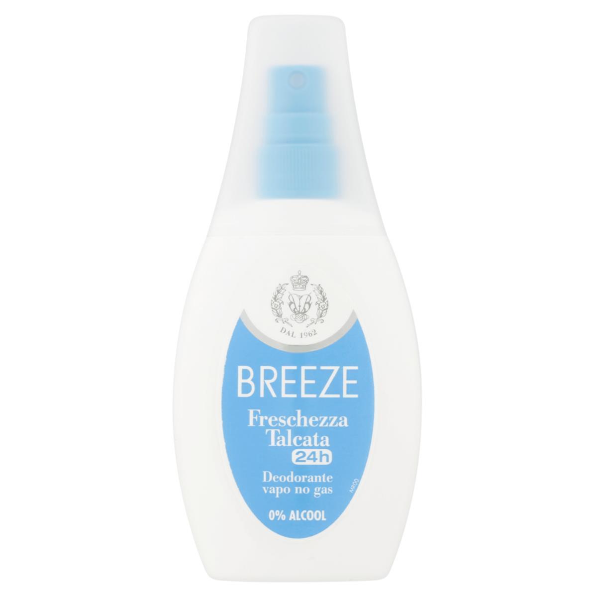 Deodorante Breeze Freschezza Talcata Vapo 75ml