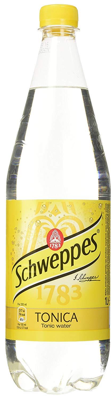 Schweppes – Acqua Tonica, Bibita Analcolica Gassata – 1000 ml