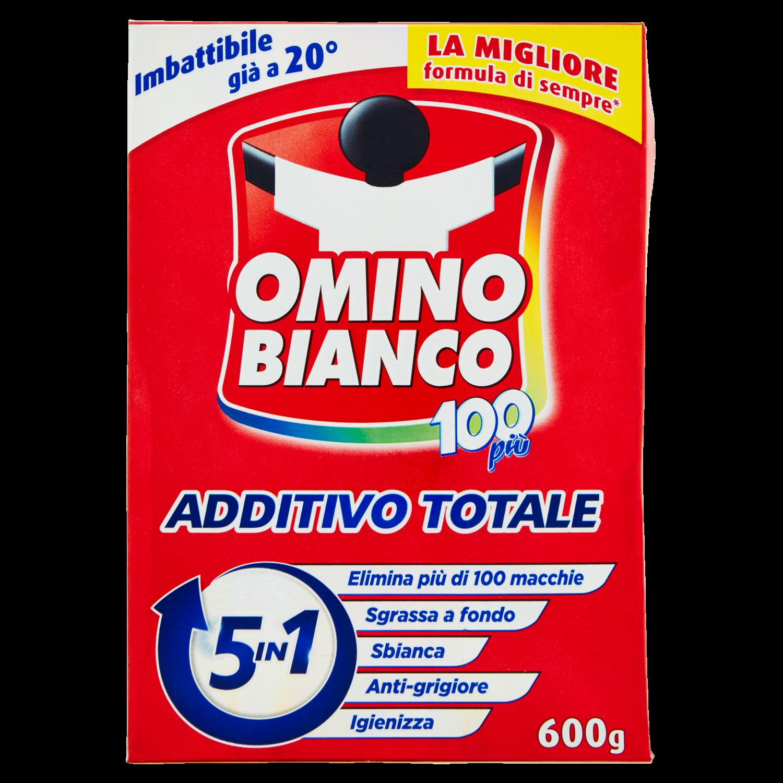 Omino Bianco 100più Additivo Totale 600 g