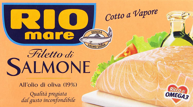 Filetto di Salmone Rio Mare