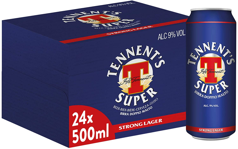 Pacco Tennent's 24pz da 50cl