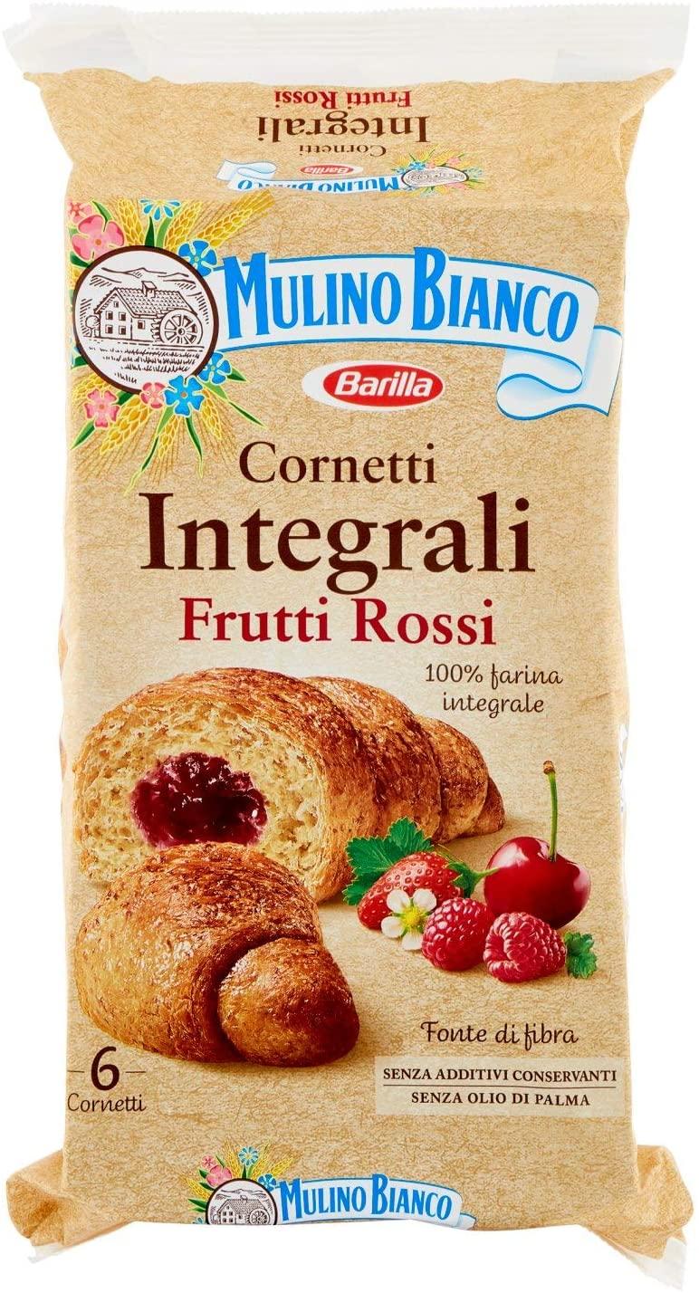 Cornetti Integrali Frutti Rossi 300g