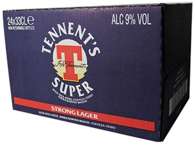 Birra Super Tennent's 33cl 24pz
