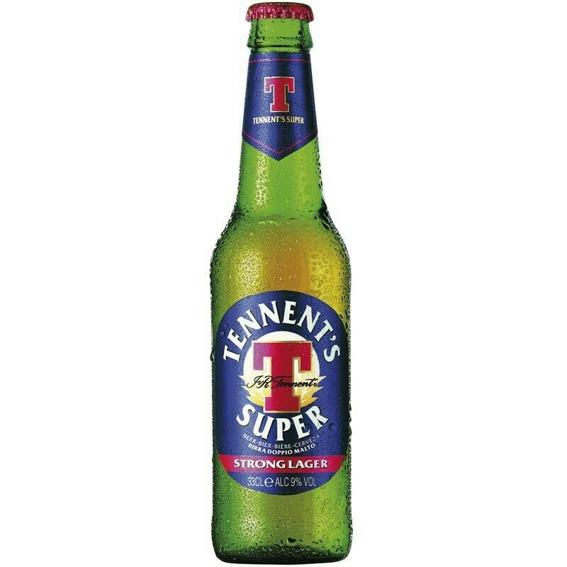 Birra Super Tennent's 33cl