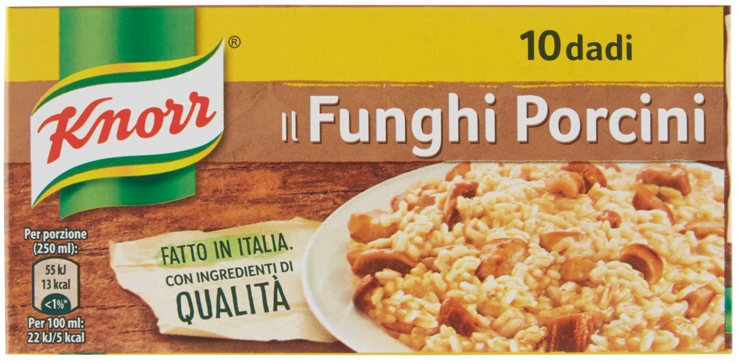Dado Funghi Porcini Knorr 10pz