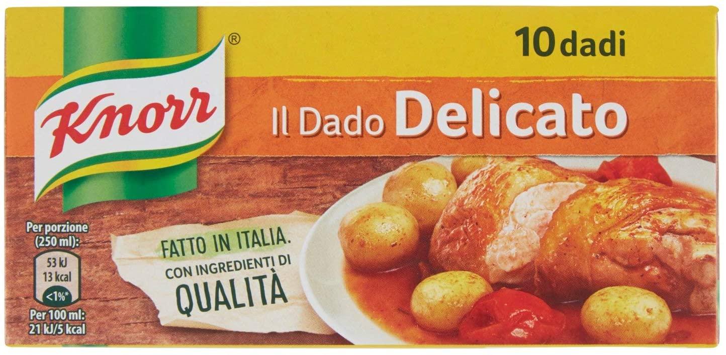 Dado Delicato Knorr 10pz