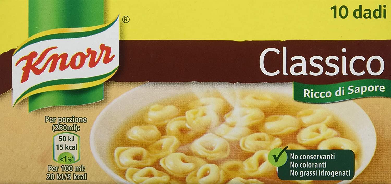 Dado Classico Knorr 10pz