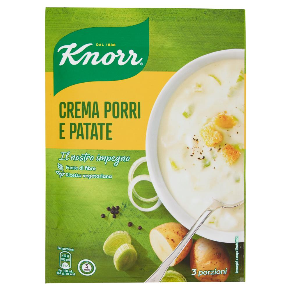 Crema Porri e Patate Knorr 90g